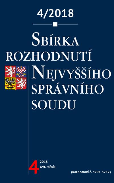 Sbírka NSS č. 4/2018
